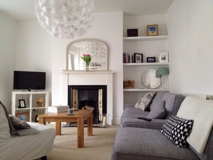 Lounge 2 bed flat Clifton