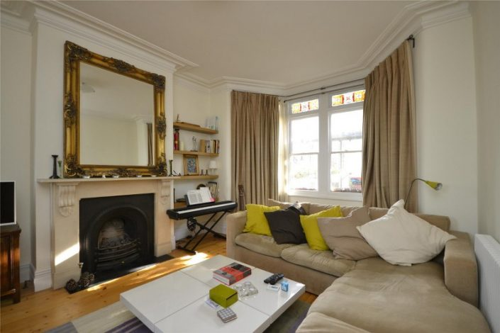 Lounge 3 bed victorian house st andrews
