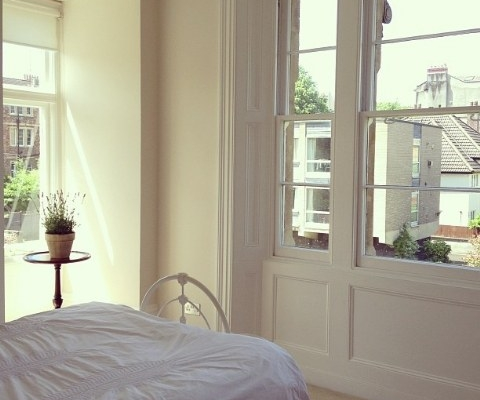 Bright master bedroom beautiful 2 bed flat